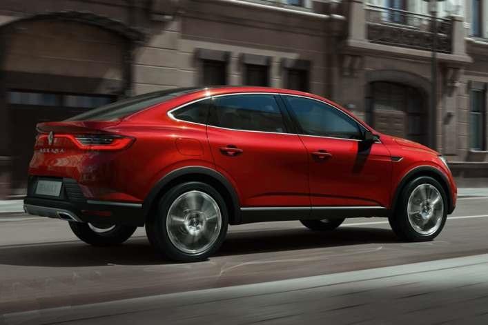 Renault показала новейший внедорожник-купе Arkana