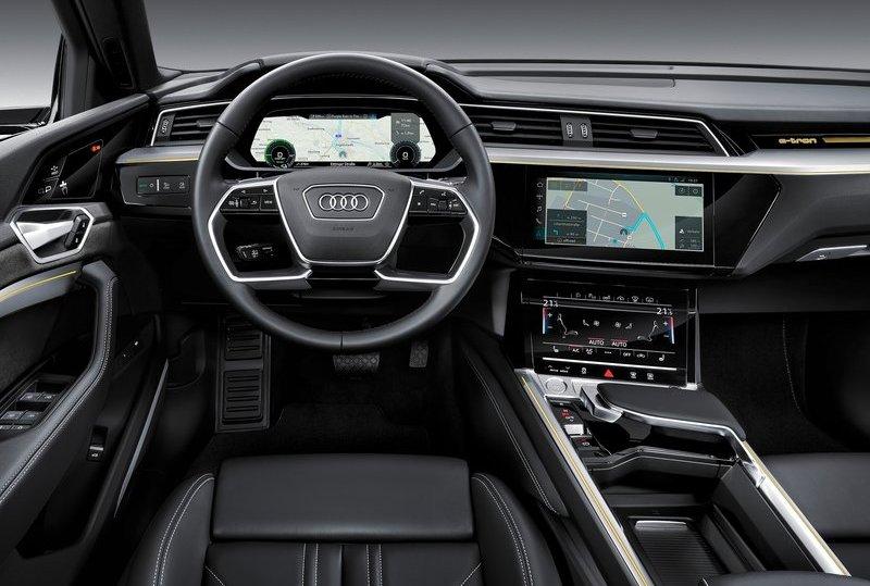 Audi e-tron официально представлен публике