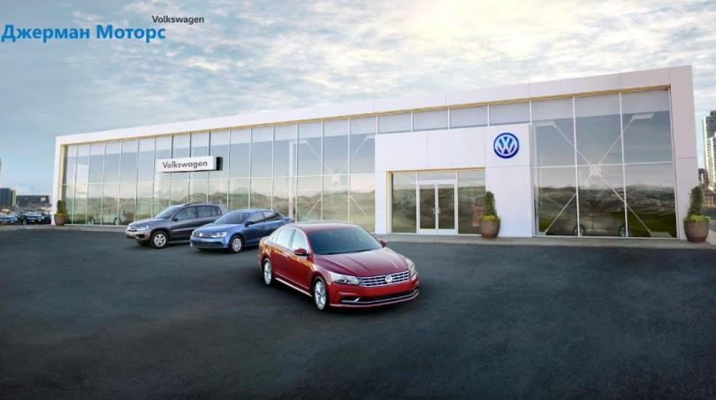 СТО. Джерман Моторз Volkswagen, Киев