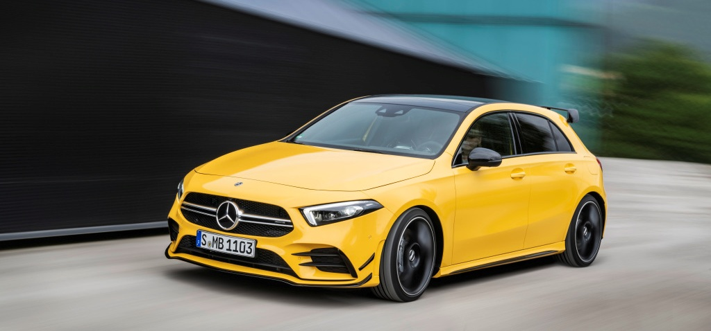 "Mercedes-AMG A35 4MATIC: самый ""злой"" А-класс"
