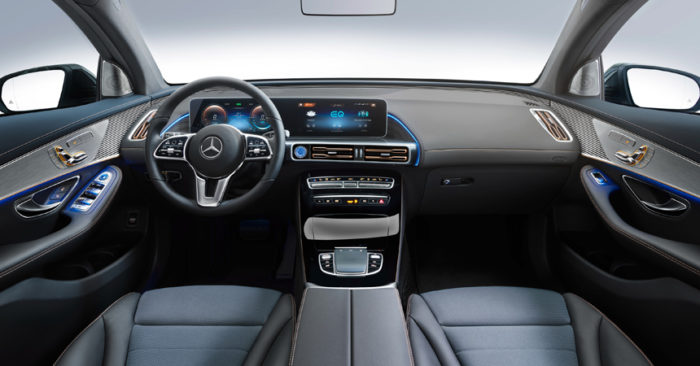 Mercedes EQC: первый электрический кроссовер марки