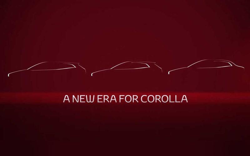 Новый седан Toyota Corolla (E21): первое фото перед презентацией