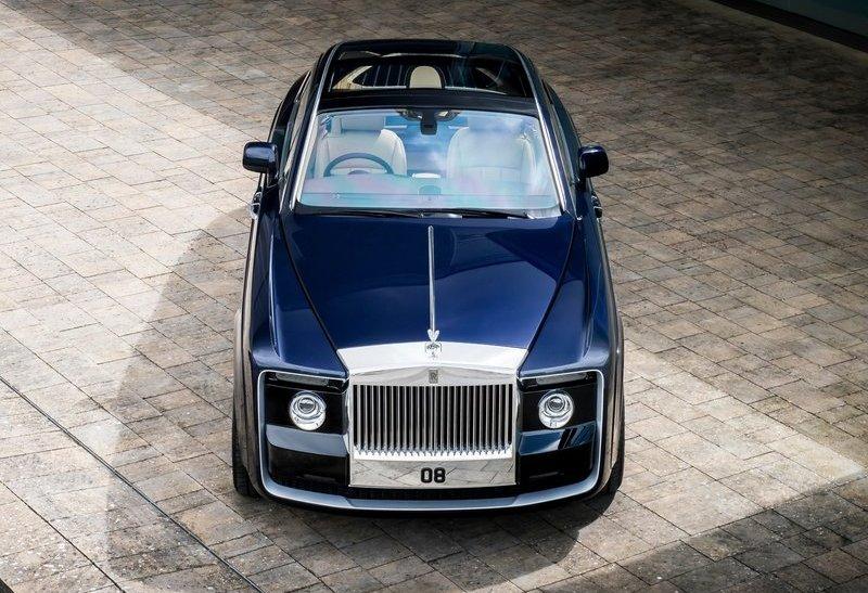 Rolls-Royce Sweptail станет самый дорогим серийный автомобилем
