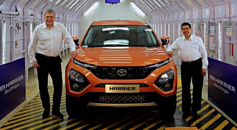 Tata Harrier: скоро выйдет бюджетный Land Rover