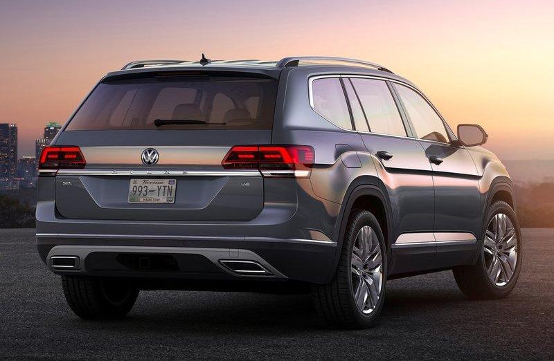 Volkswagen Teramont / Atlas: обзор