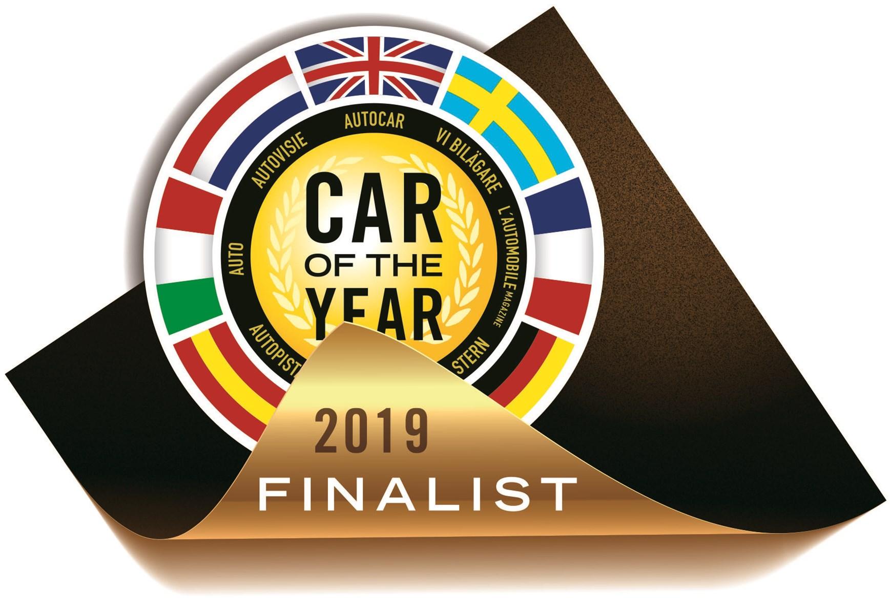 Названы 7 финалистов конкурса «Автомобиль года 2019»