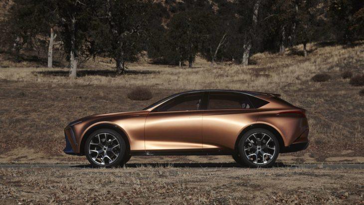 Новый внедорожник Lexus