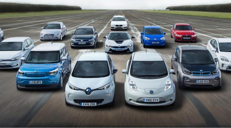 ТОП 5 популярных электромобилей в Европе