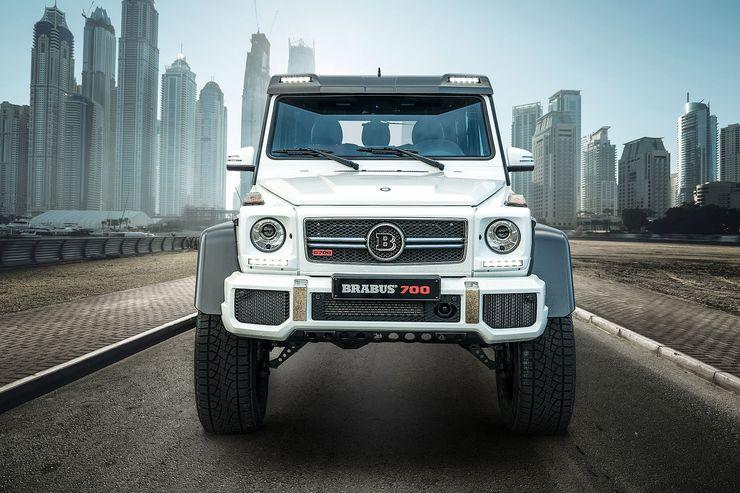 Mercedes Brabus G700 - внедорожный суперкар за 250 тыс евро