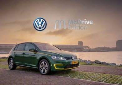 Volkswagen e-Golf McDrive Edition специально для фаст-фудов