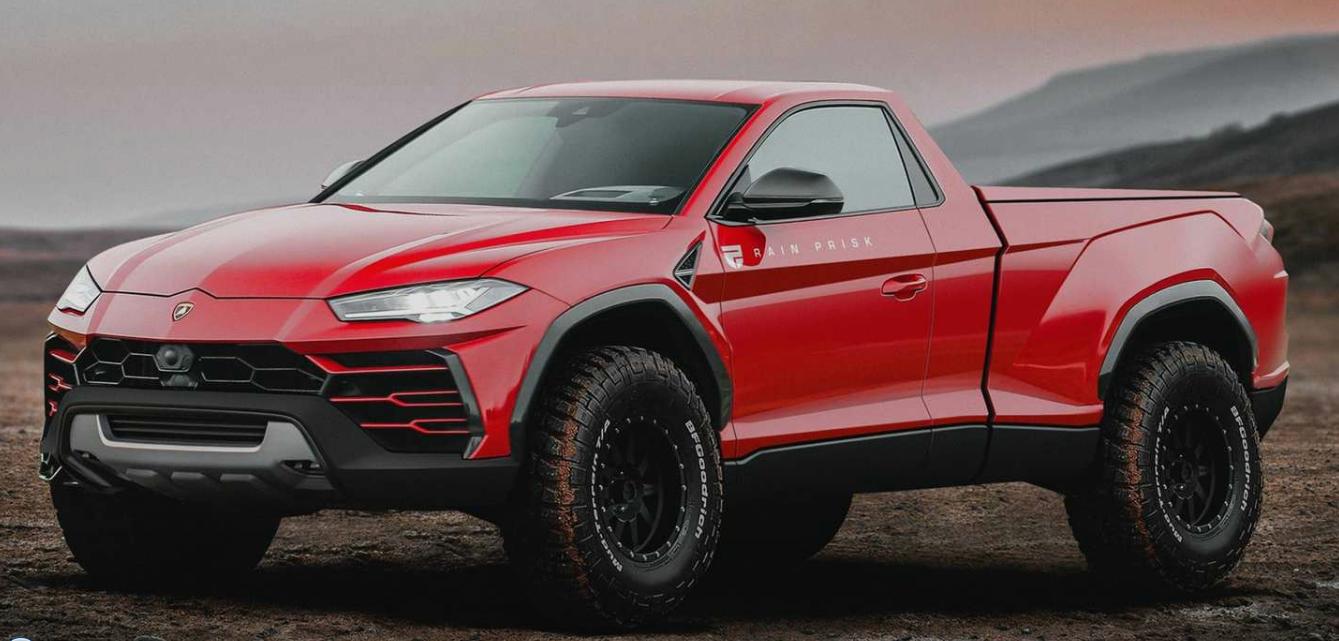 Pick-up - Lamborghini Urus