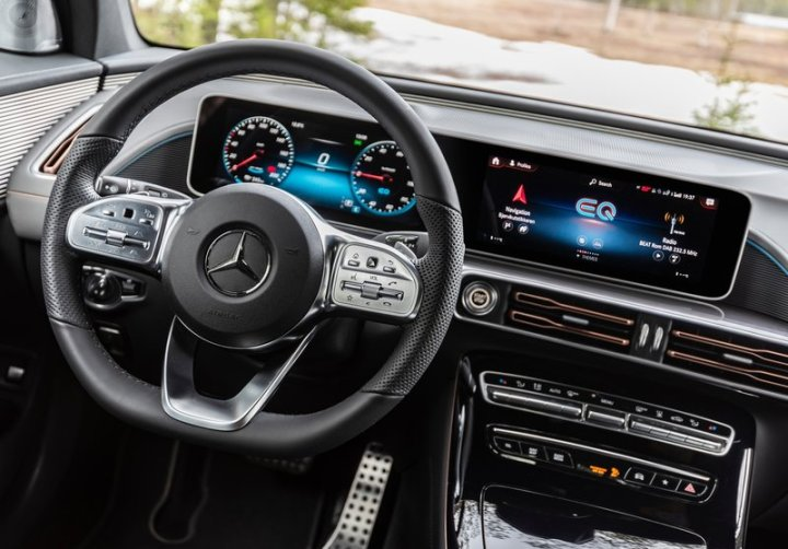 Mercedes-Benz EQC: обзор и описание электромобиля