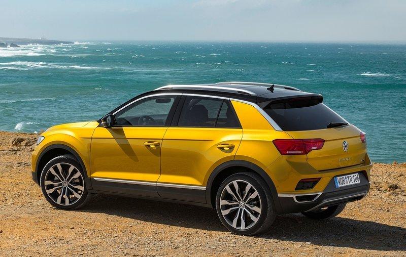 Кроссовер Volkswagen T-Roc скоро появится в Украине