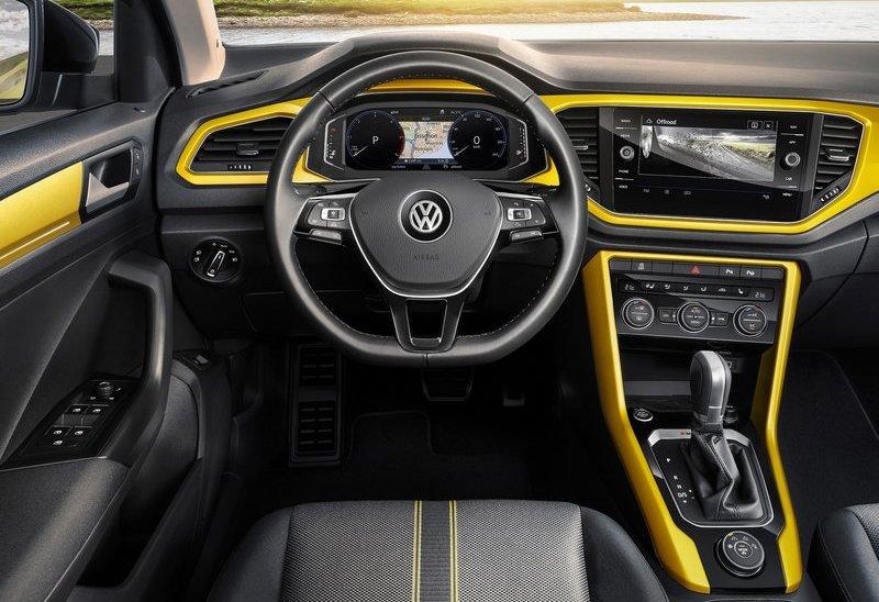 Volkswagen T-Roc салон