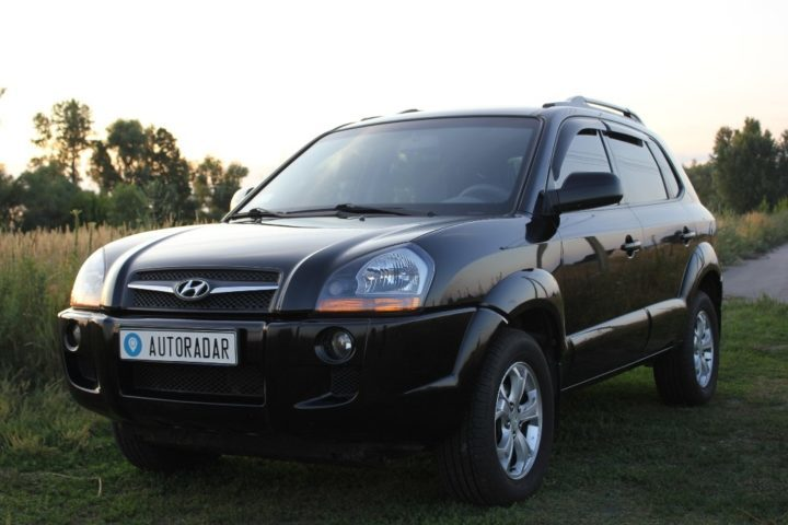 обзор Hyundai Tucson первого поколения JM