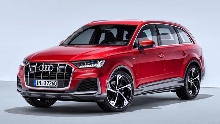 Audi Q7 фейслифтинг 2019