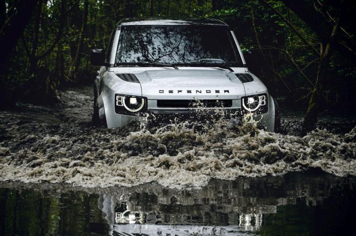 Новый Land Rover Defender