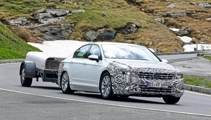Новый Volkswagen Passat B9