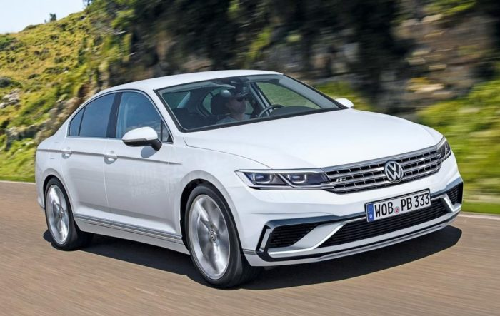Volkswagen Passat B9: что о нем известно