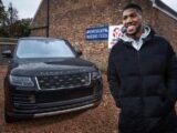 Range Rover для чемпиона мира по боксу Энтони Джошуа