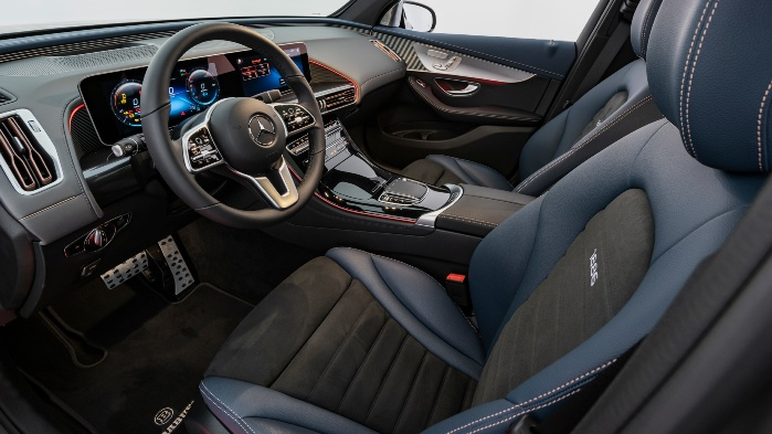 Mercedes-Benz EQC Brabus интерьер